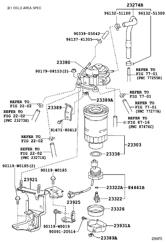 hight resolution of auris hybrid fuel filter