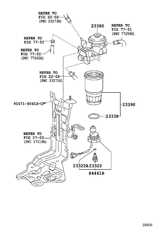 medium resolution of rav4 fuel filter
