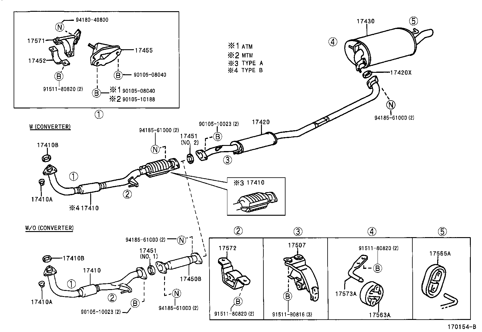 31 Toyota Camry Exhaust System Diagram