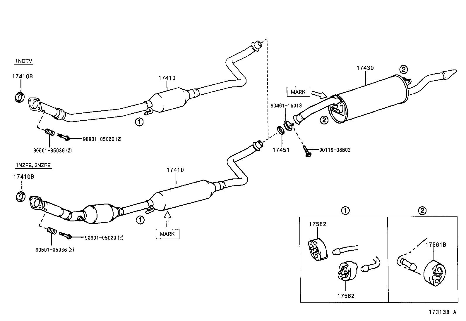 toyota rav4 exhaust system diagram mitsubishi outlander radio wiring 2008 engine best library electrical yaris fuse box