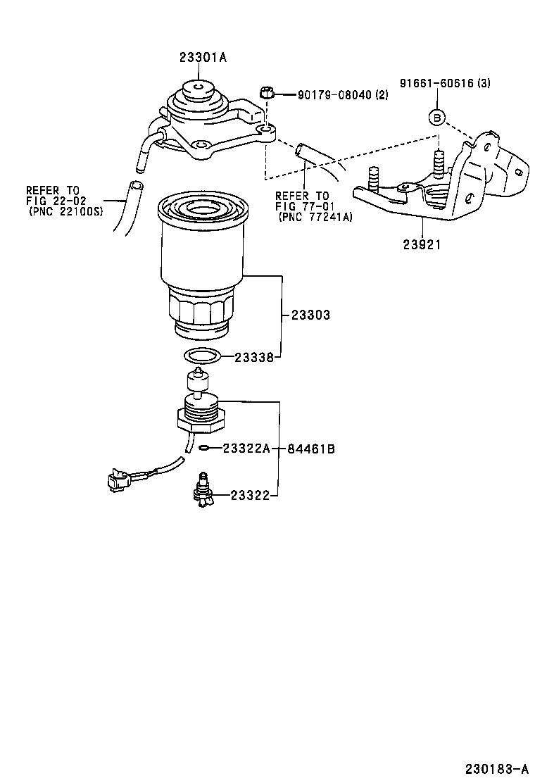 medium resolution of picnic avensis verso fuel filter