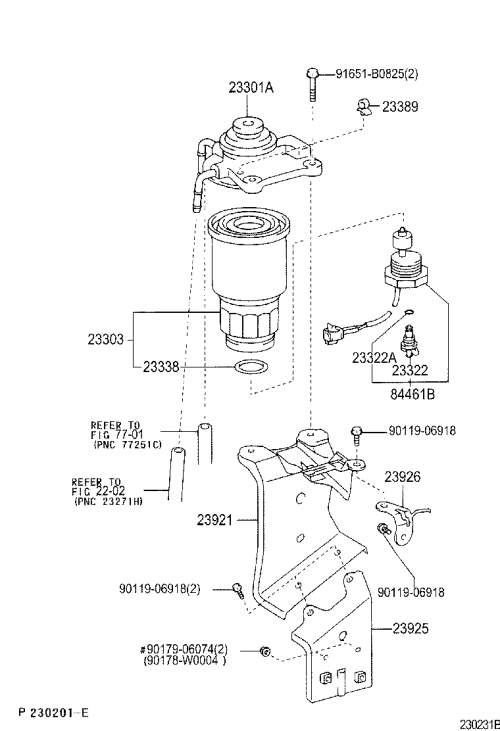 small resolution of corolla fuel filter