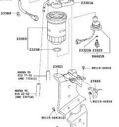 corolla verso fuel filter [ 760 x 1112 Pixel ]