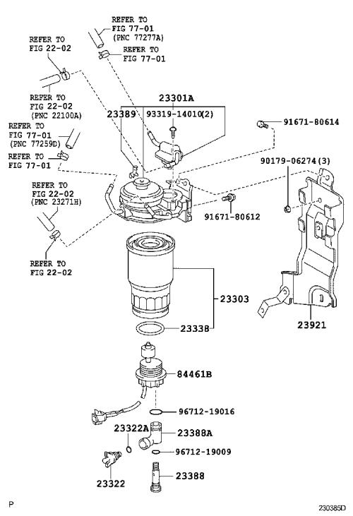 small resolution of yaris fuel filter