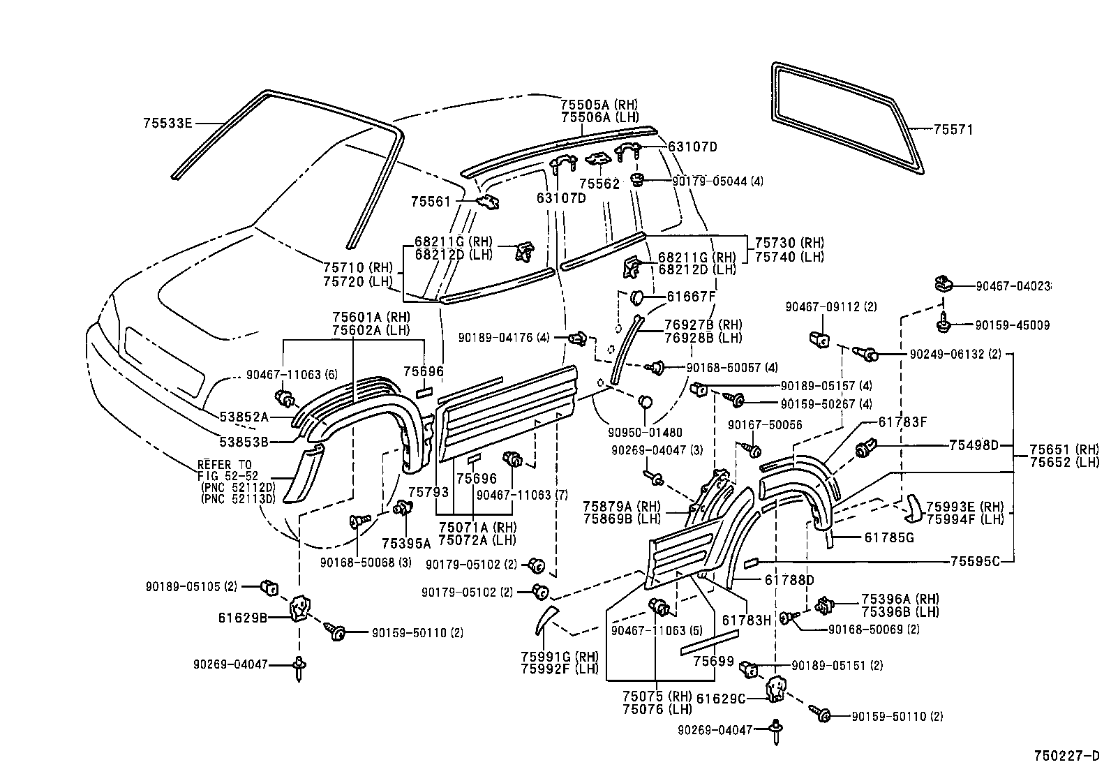 Toyota Rav4 Parts Diagram