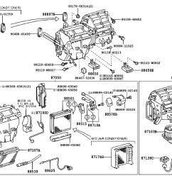 1995 toyota corolla engine diagram heater [ 1592 x 1099 Pixel ]