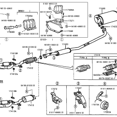 2002 Toyota Camry Parts Diagram Afc Neo Wiring 4g93 Highlander Exhaust