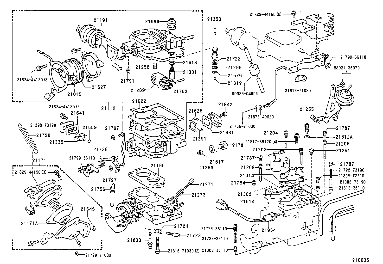 Diagram Of Toyota Parts. Toyota. Auto Parts Catalog And