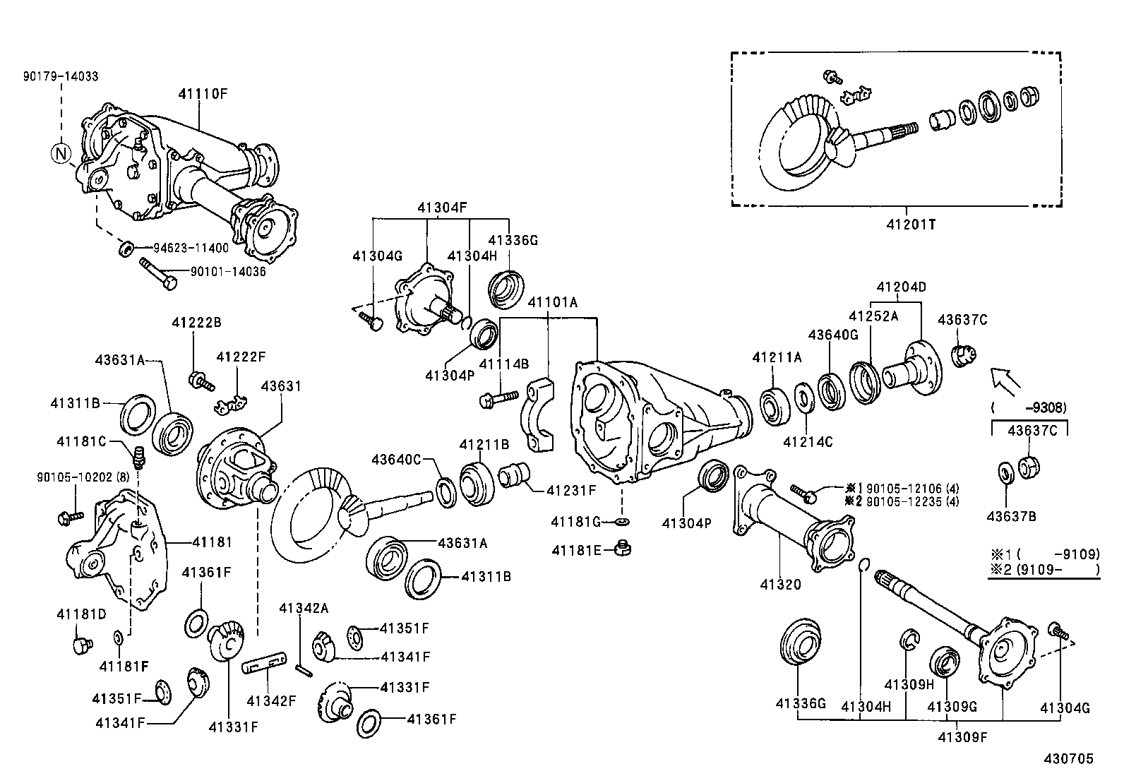 TOYOTA HILUX JPPLN110L-CRMDSW