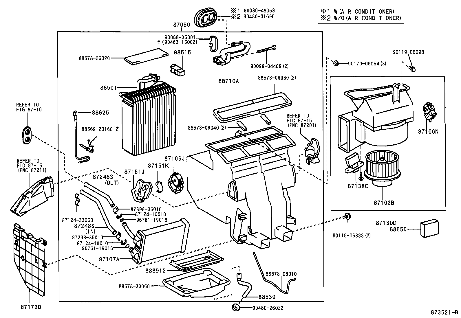 Toyota Camry Ac Parts Diagram. Toyota. Auto Parts Catalog
