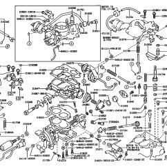 1989 Toyota Pickup Wiring Diagrams Level Zero Data Flow Diagram Carburetor For Tercel