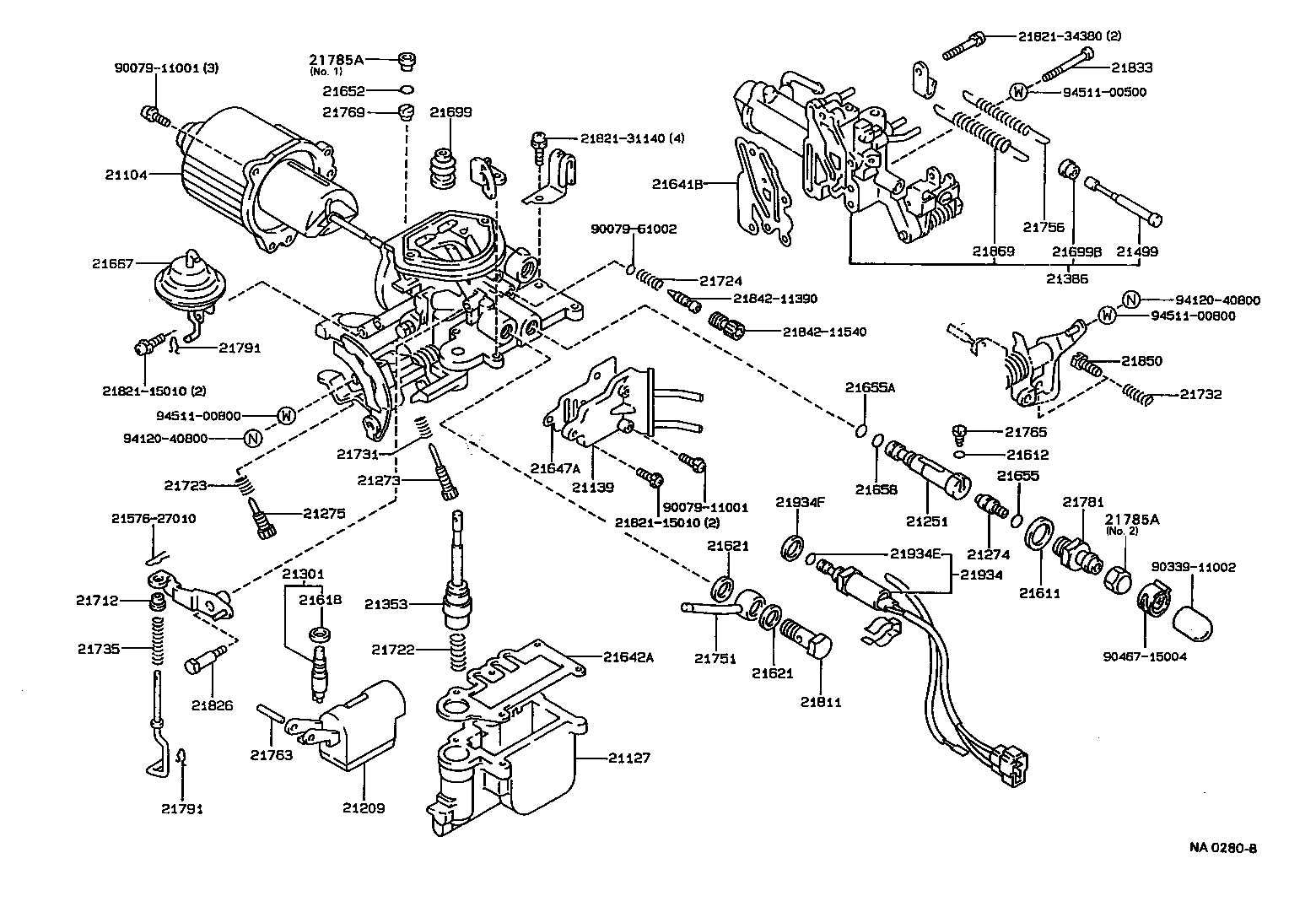Bestseller: 1988 Toyota Corolla Engine Diagram