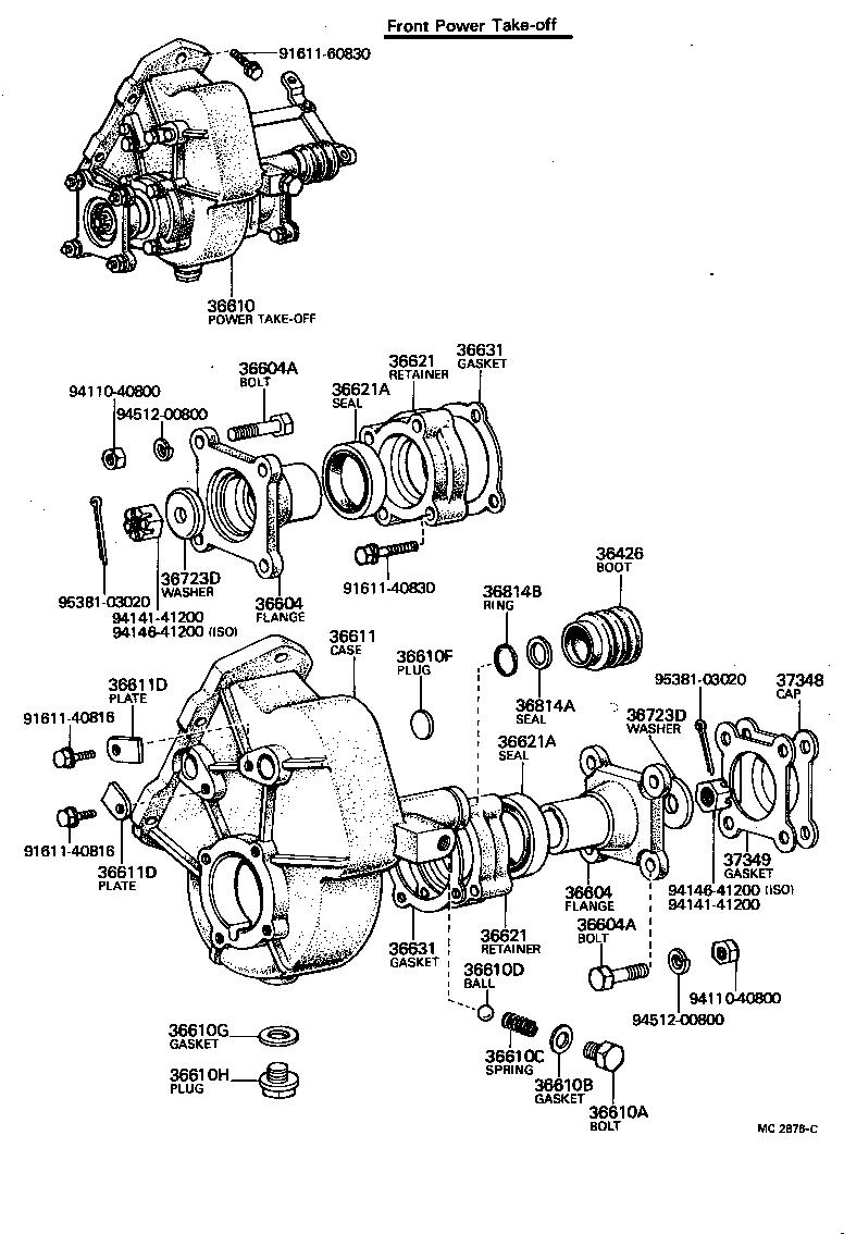 1976 Toyota Land Cruiser Fuse Box Diagram. Toyota. Auto