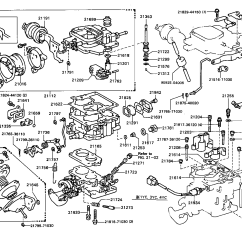 Toyota Engine Parts Diagram Lima Bean Dissection 22r Carburetor Imageresizertool Com