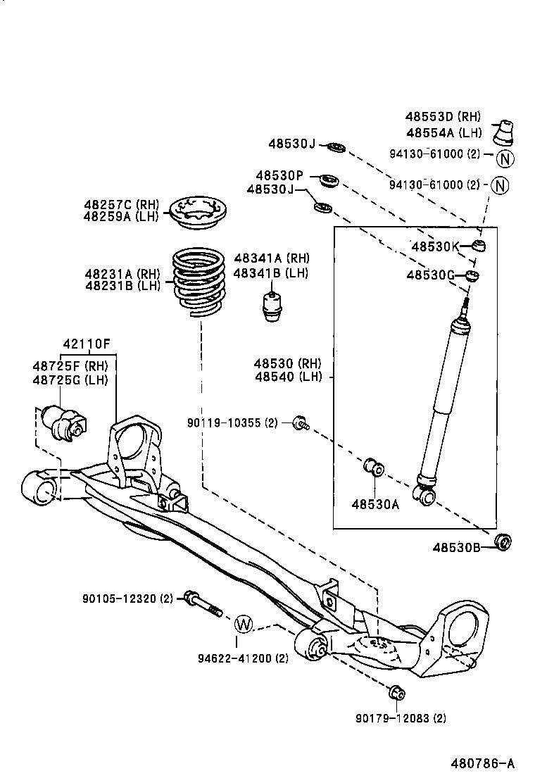 Toyota vista ardeo d4 engine