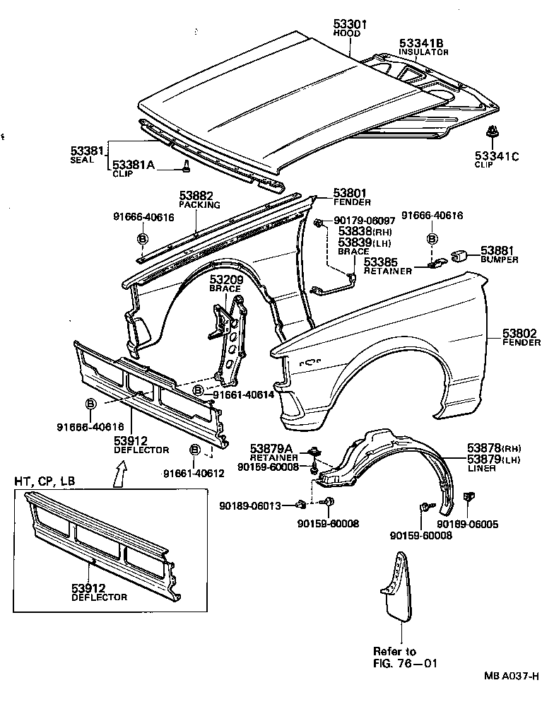 Toyota Camry Exterior Parts Diagram Html