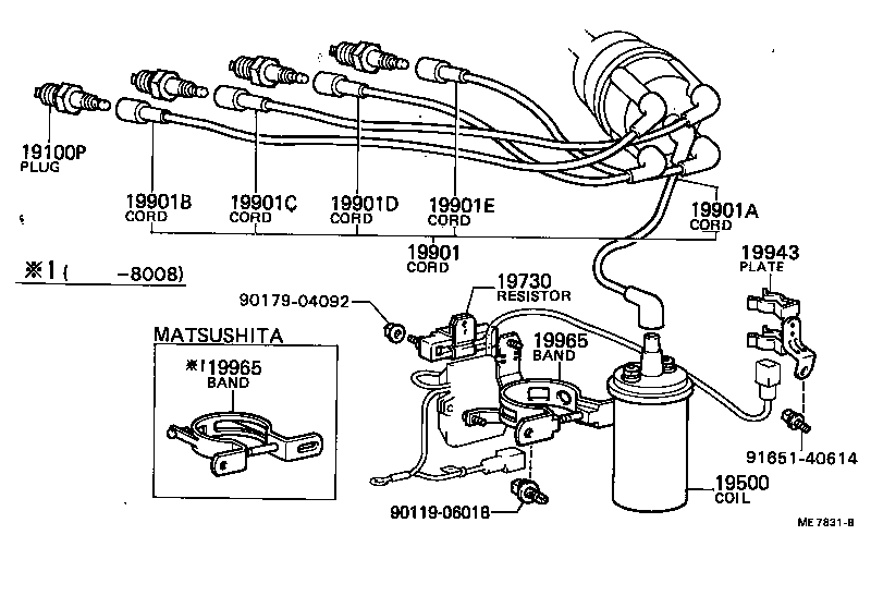 Toyota Corolla Trunk Parts Diagram. Toyota. Auto Wiring
