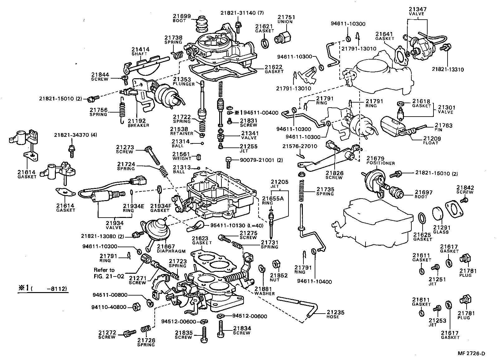 1989 Toyota Corolla Carburetor Diagram, 1989, Free Engine
