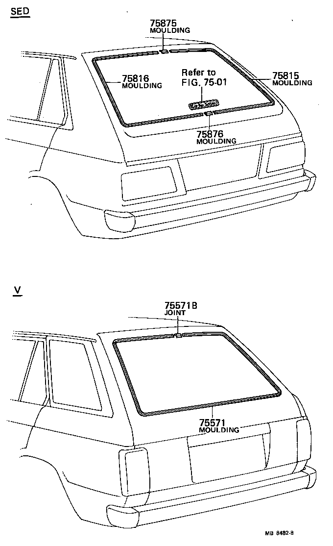 Toyota starlet kp61 body parts