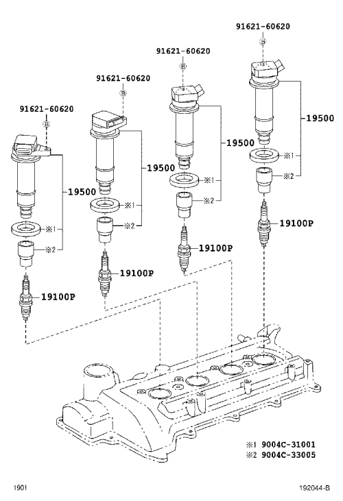 small resolution of 192044b 2006 toyota avalon engine diagram coil 2006 engine problems and 1998