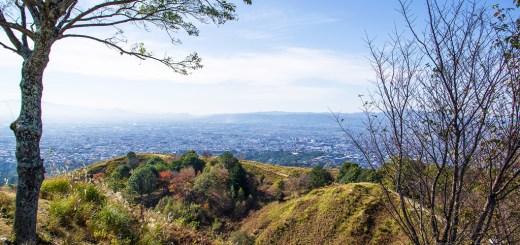 若草山(奈良県/笠置山地)