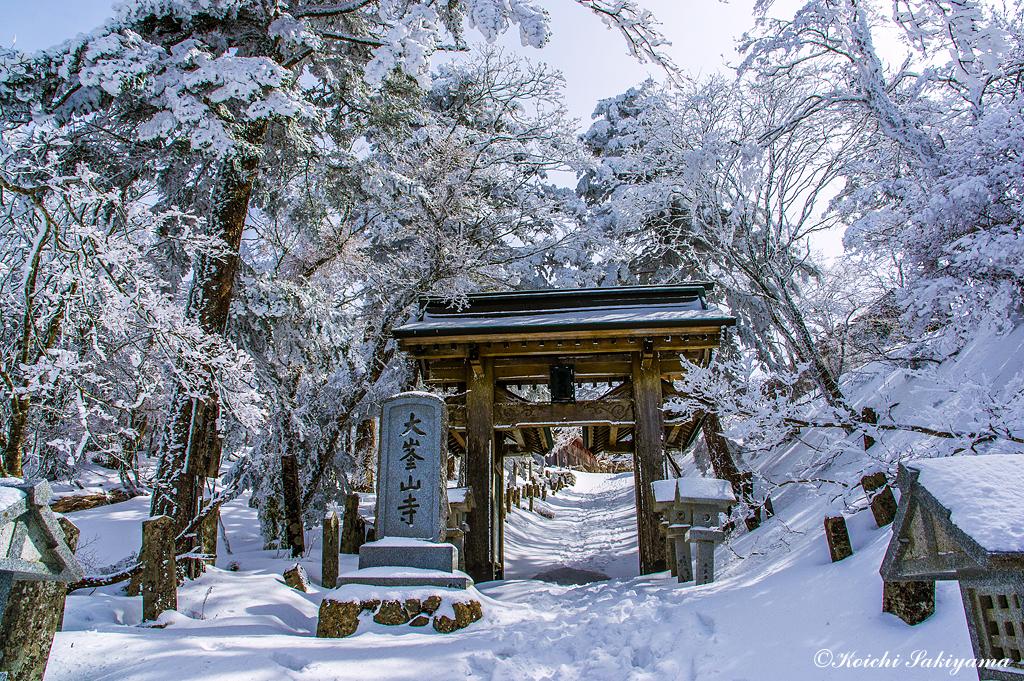 山上ヶ岳に抱かれ絶景(奈良県/大峰山脈)
