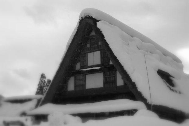 冬の五箇山