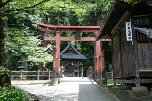 会津若松 飯盛山 厳島神社