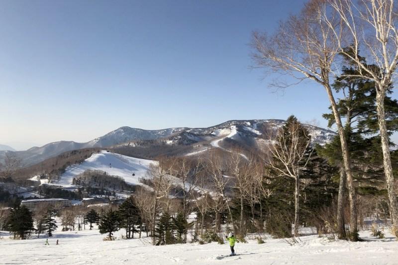 志賀高原の風景