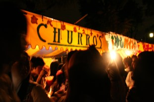 The churros sign!