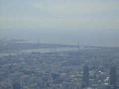Odaiba in the distance