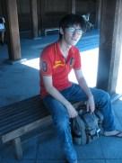 Resting at Meji Jingu