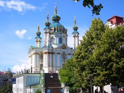 聖アンドレイ教会(ウクライナ・キエフ)