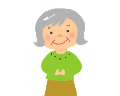 老後の女性