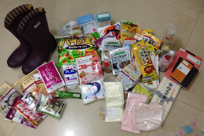 日本からインドへの贈り物