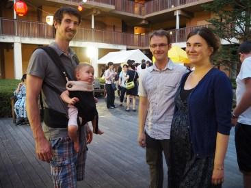 Marko, Zoja, Charlene in JB.