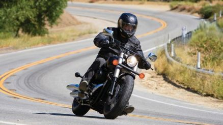 2017 Honda Shadow Phantom front