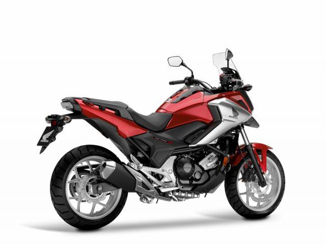 2017 Honda NC750X rear