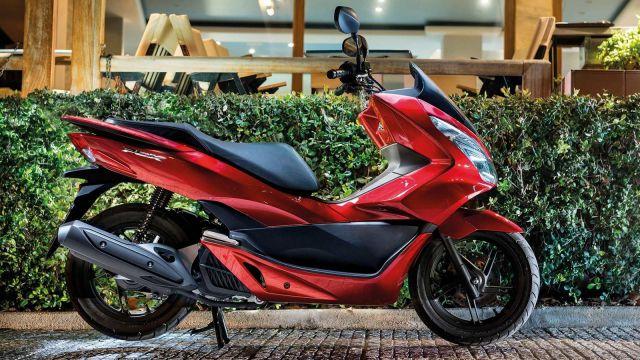 2017 Honda PCX150 side