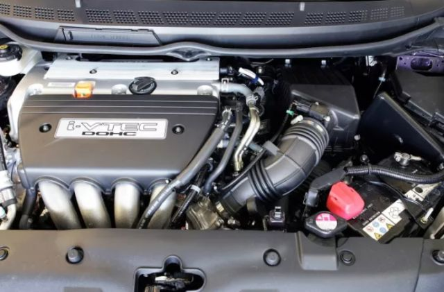 2019 Honda Civic-Si Sedan engine