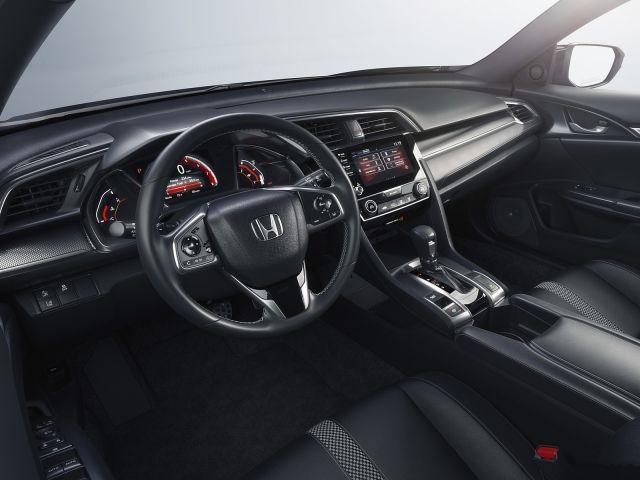 2019 Honda Civic-Si Sedan interior