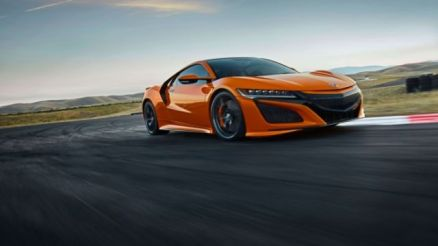 2020 Acura NSX front