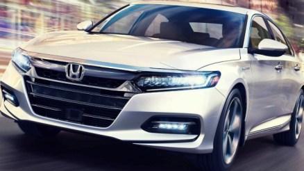 2020 Honda Accord Hybrid front