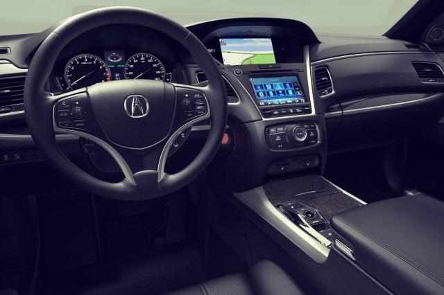 2019 Acura RLX Hybrid interior
