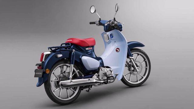 2019 Honda Super Cub rear