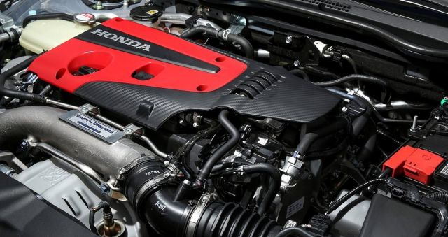 2020 Honda Civic Type-R AWD engine