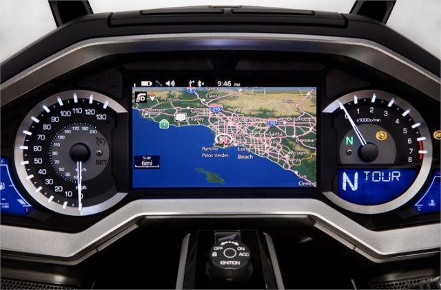 2019 Honda Gold Wing navigation