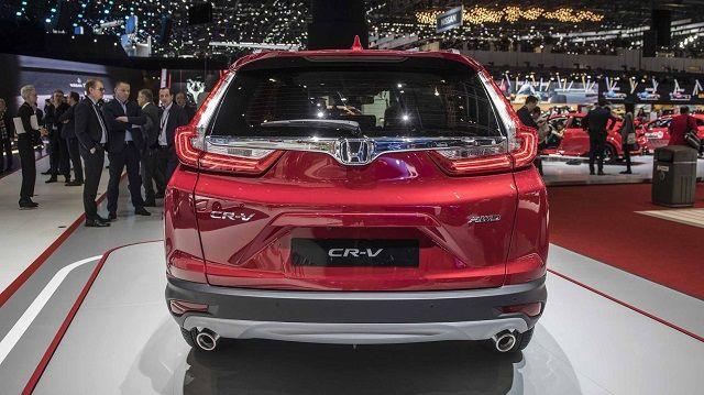 2020 Honda CR-V rear