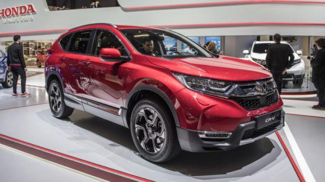 2020 Honda CR-V side
