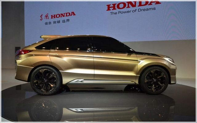 2020 Honda Crosstour side